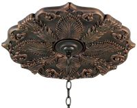 "Classic Roman Bronze 24"" Wide Ceiling Medallion - #73574 ..."
