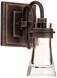 """Dover 10 1/2"""" High Antique Copper Wall Sconce - #7C243 ..."""