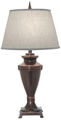 Keyton Oxidized Bronze Table Lamp - #7N763 | Lamps Plus