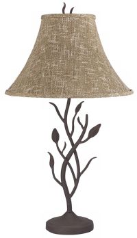 Wrought Iron Tree Table Lamp - #83698 | Lamps Plus