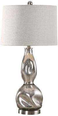 Uttermost Dovera Mercury Glass Table Lamp - #8K079 | Lamps ...