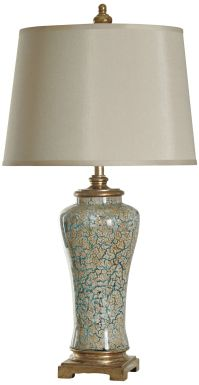 Ginger Caledonia Glass Jar Table Lamp - #8P582 | Lamps Plus