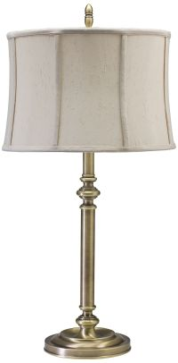 House of Troy Coach Antique Brass Table Lamp - #8W931 ...