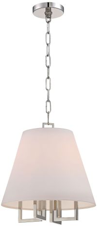 "Westwood Collection 13 1/2"" Wide Pendant Shade Chandelier ..."