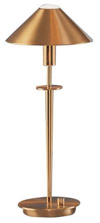 Holtkoetter Brushed Brass Halogen Desk Lamp - #98820 ...
