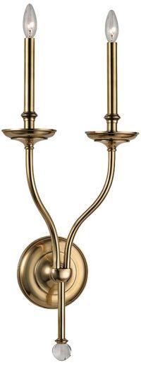 Brass - Antique Brass, Bathroom Sconces, Bathroom Lighting ...