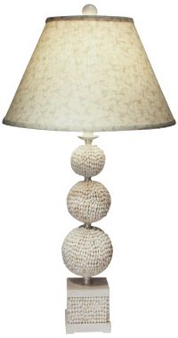 Poodle Shell Table Lamp by The Natural Light - #F9388 ...