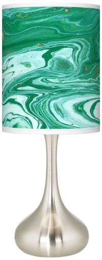 Malachite Giclee Droplet Table Lamp - #K3334-1Y511 | Lamps ...