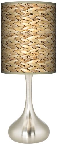 Seagrass Giclee Droplet Table Lamp - #K3334-N1682 | Lamps ...