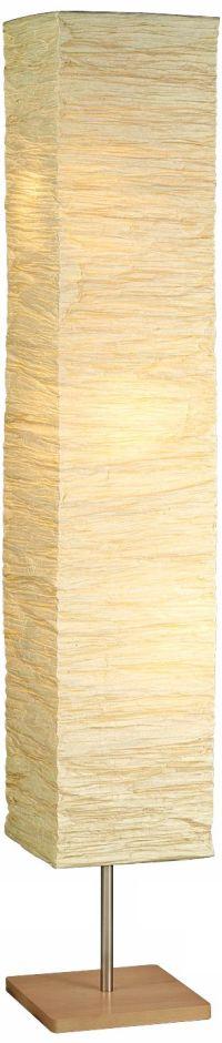 Crinkle Paper Square Floor Lamp - #R4711 | Lamps Plus