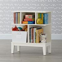 Sprout Small White Bookcase | The Land of Nod