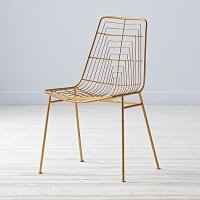 Domino Desk Chair (Gold) | The Land of Nod
