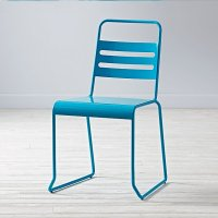 Homeroom Metal Desk Chair (Teal) | The Land of Nod