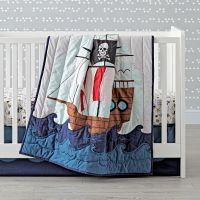 Pirate Crib Bedding - TKTB