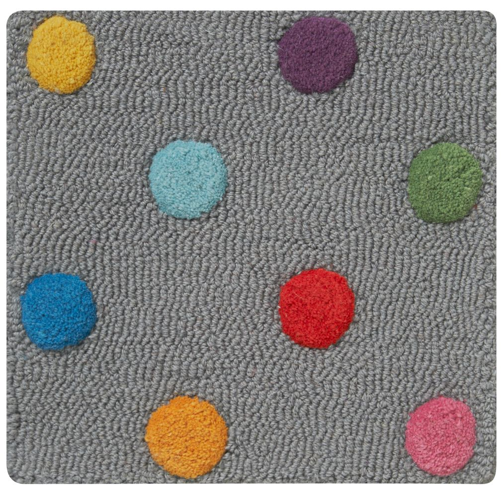 Rugs For Kids Candy Dot Rug Swatch