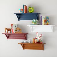 SHELVES and WALL PEGS - KIDS ROOM DECOR
