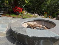 Custom Built-In Fire Pit Designs - Landscaping Network