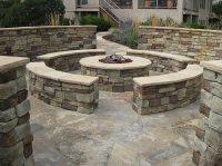 Beautiful stone Firepits on Pinterest | Fire Pits, Firepit ...