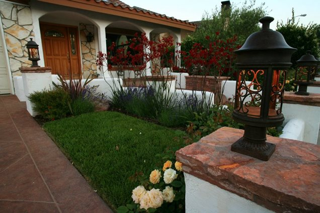 front yard landscaping solvang ca photo gallery