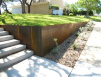 Pin Steel Retaining Wall on Pinterest