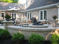 Fire Pit - New Carlisle, OH - Photo Gallery - Landscaping ...