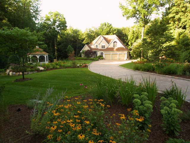 Home Yard Design. Front Yard Landscaping Pictures   Gallery Network Outdoor Home  Design
