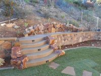 Retaining and Landscape Wall - San Marcos, CA - Photo ...
