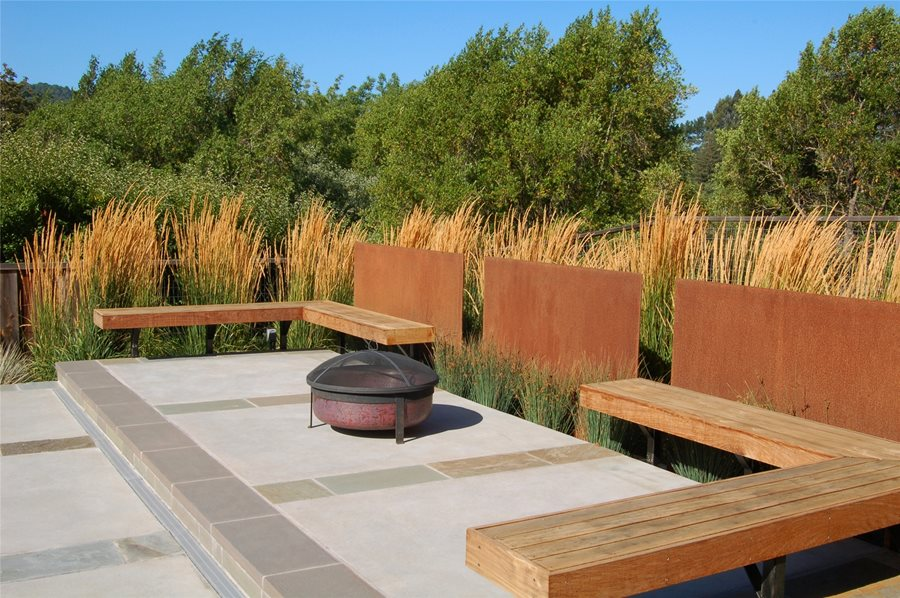 Built In Patio Seating Landscaping Network