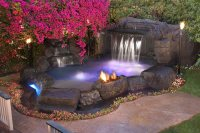 Custom Inground Spas - Landscaping Network