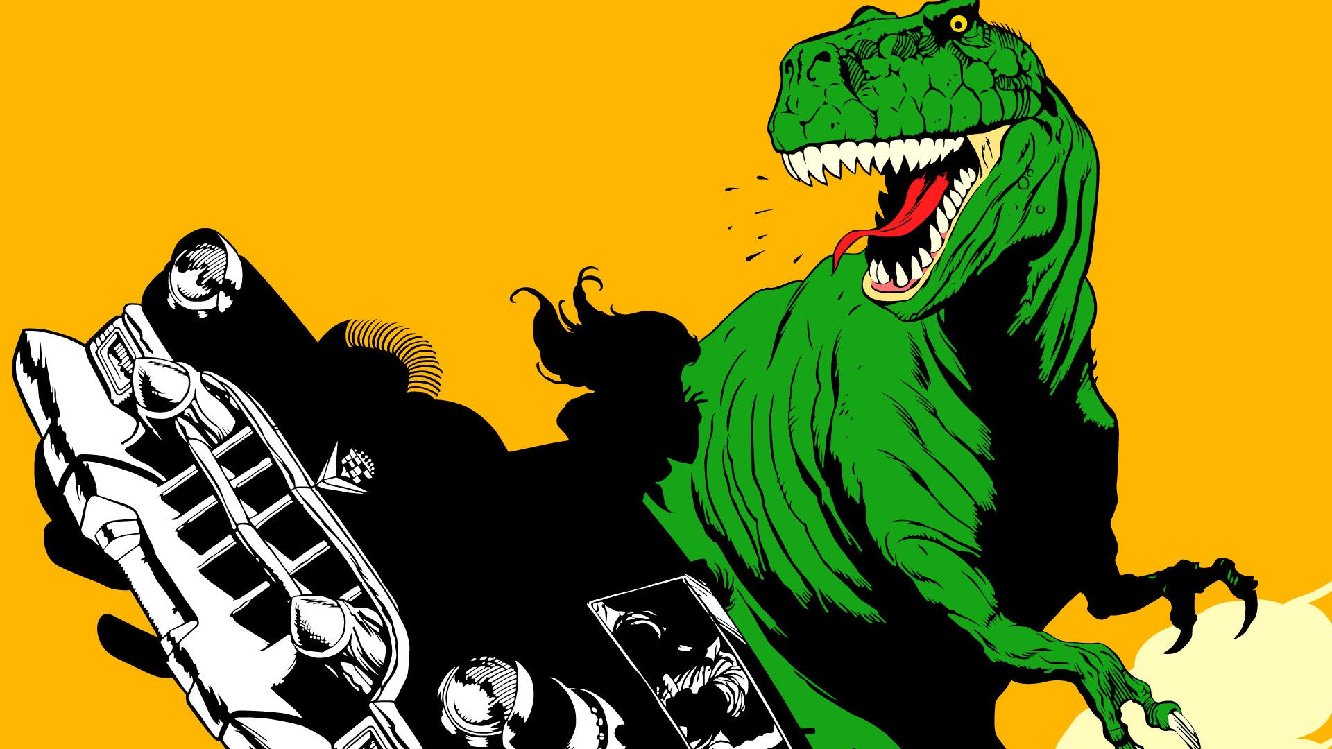 Free 3d Dinosaur Wallpaper Cadillacs And Dinosaurs Details Launchbox Games Database