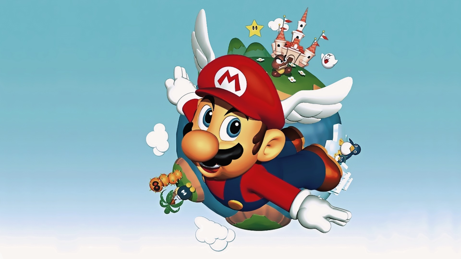 Video Games 3d Wallpaper Super Mario 64 Details Launchbox Games Database