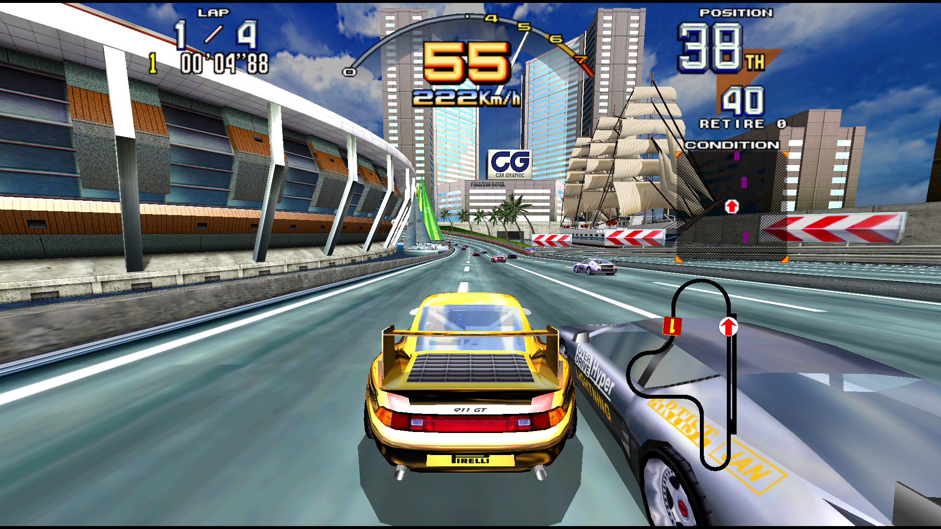 Scud Race Details Launchbox Games Database