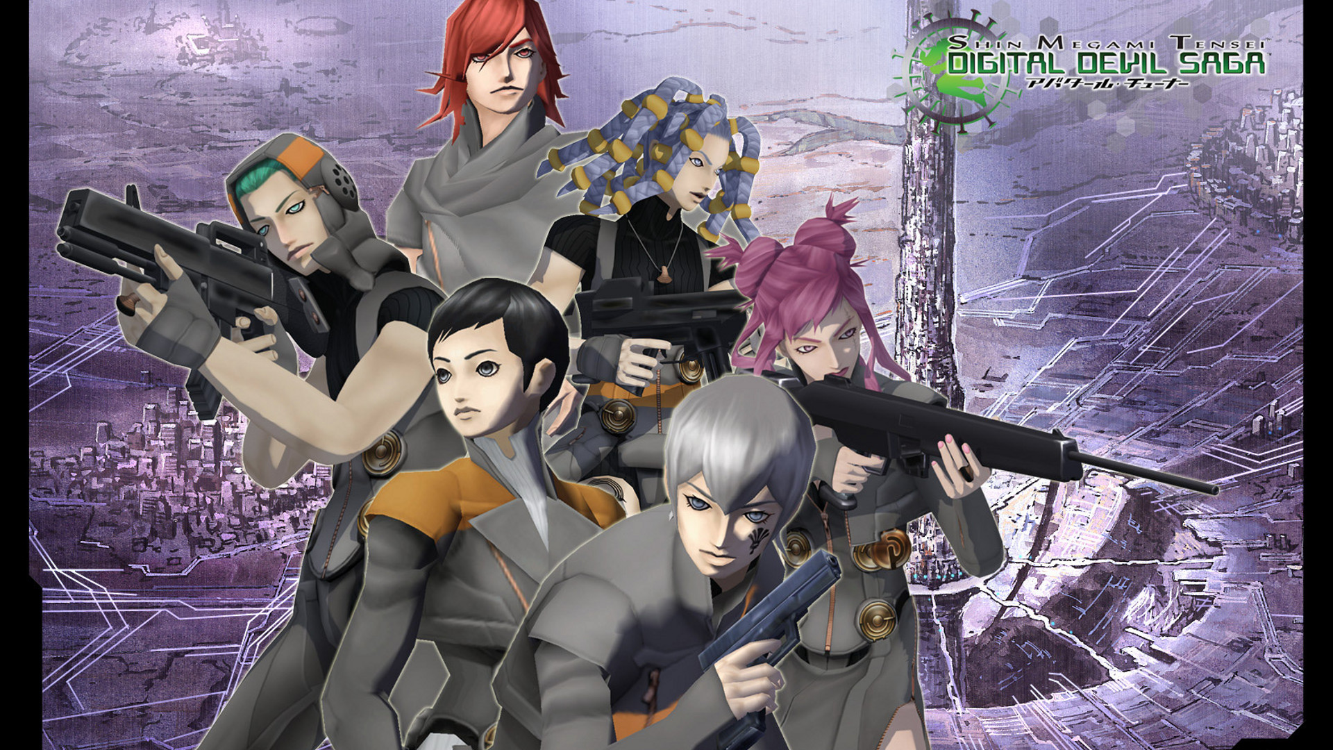 3d Wallpaper Download App Shin Megami Tensei Digital Devil Saga Details Launchbox