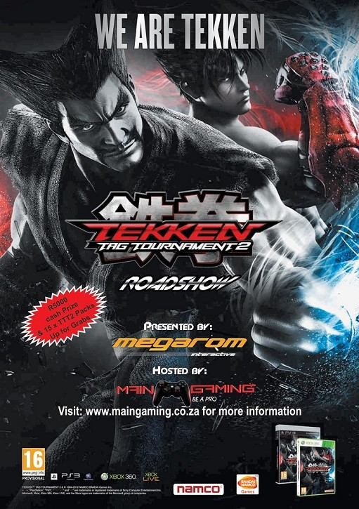 MainGaming Megarom Tekken Tag Tournament 2