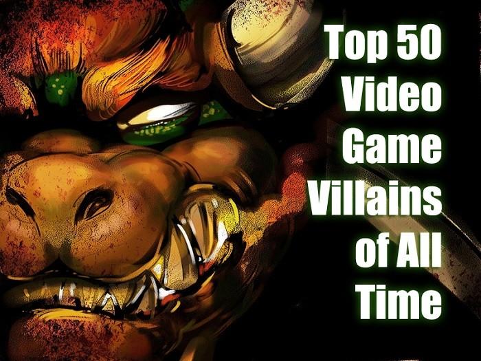 video game villians