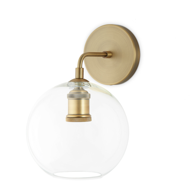 Lightscom Wall Sconces Alton Wall Sconce With Clear