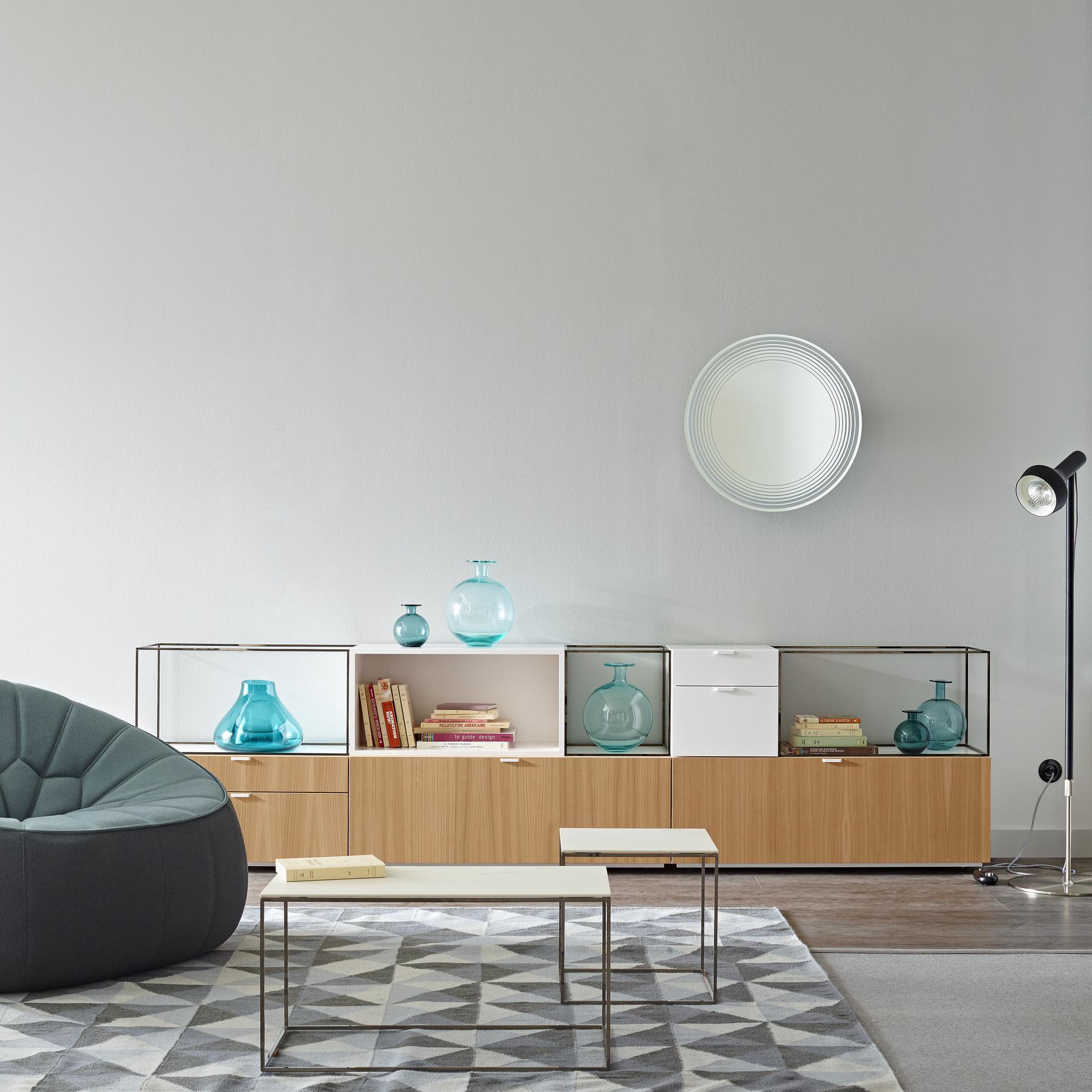 Couchtisch Glas Ligne Roset Space Occasional Tables From Designer Pagnon Pelhaître