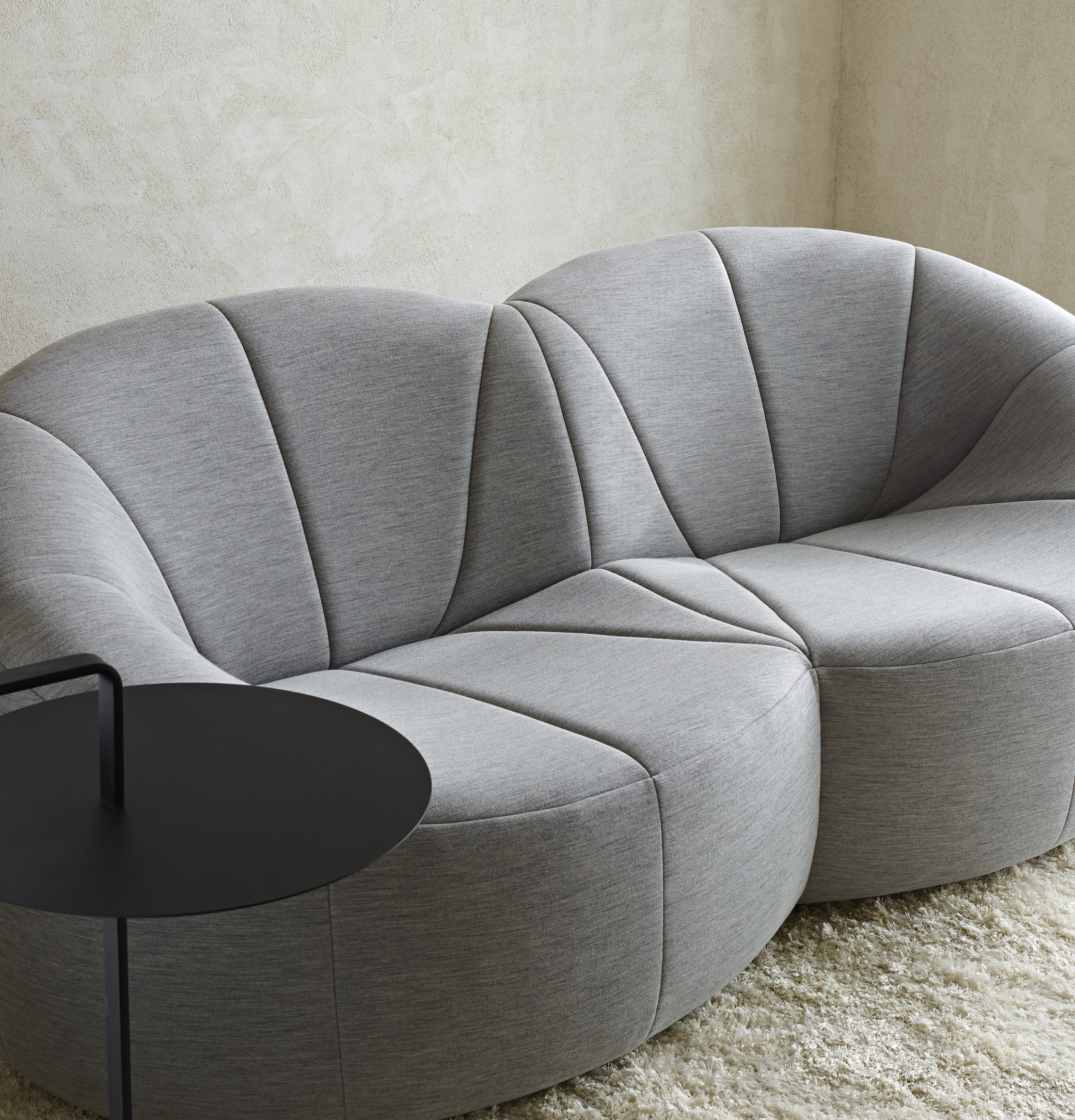 Pierre Paulin Sofa Pumpkin Sofas From Designer Pierre Paulin Ligne Roset