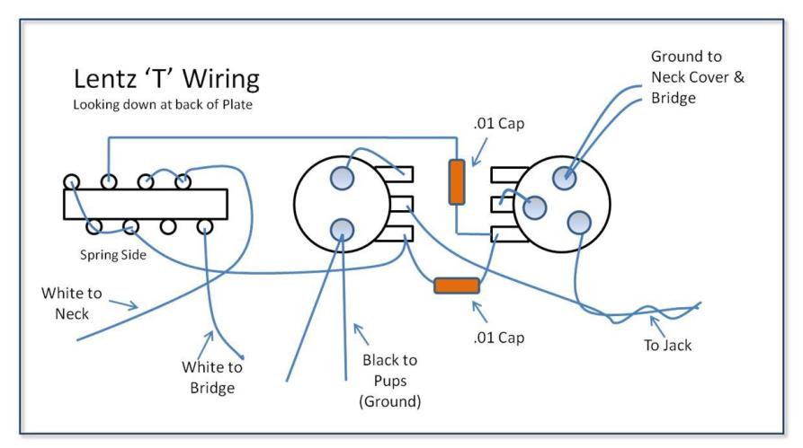 Capacitor inline with pickup What happens? The Gear Page