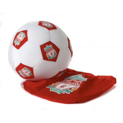 Liverpool Fc Round Shaped Football Cushion Official Brand