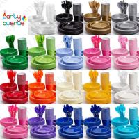 Coloured Plastic Party Tableware Birthday Wedding Catering ...