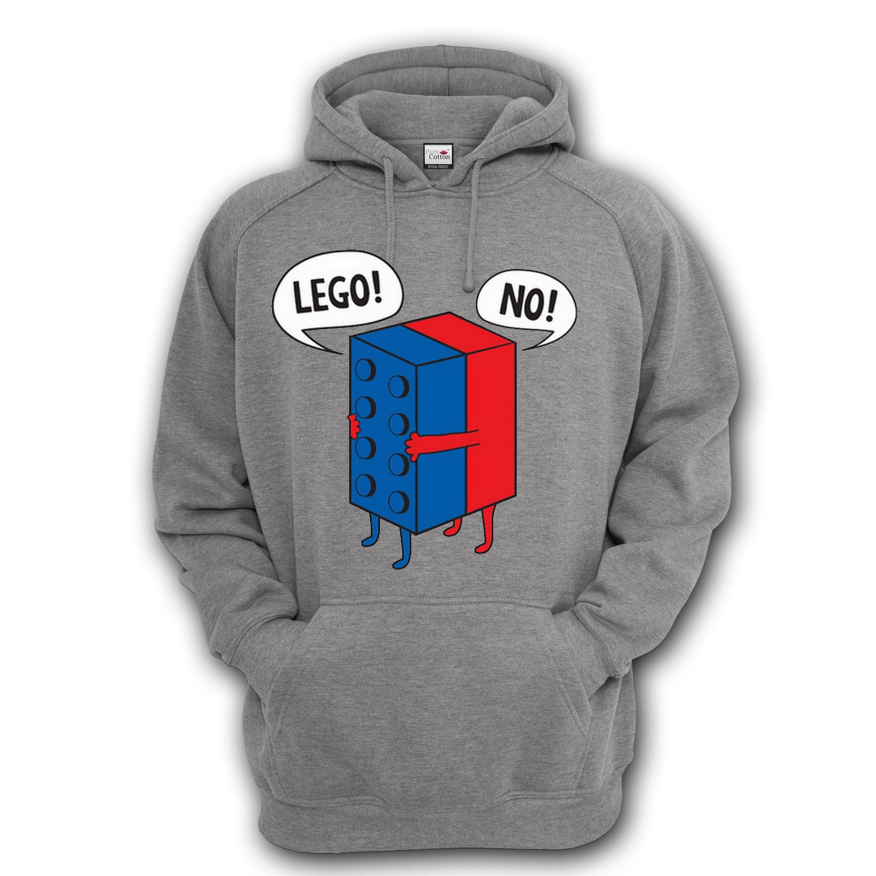 Lego Inspired Lego No Funny Design Lego Inspired Hoodies S 5xl All
