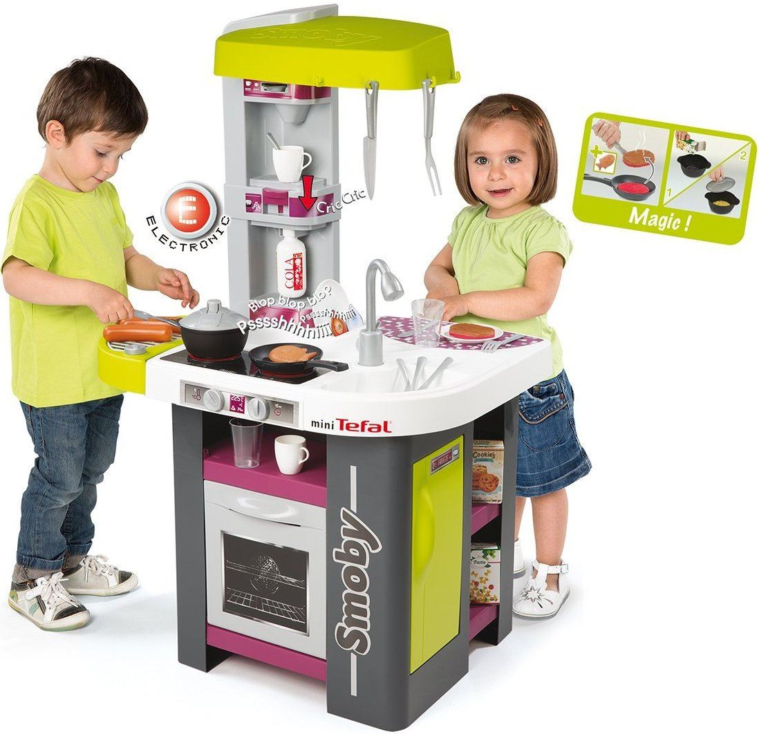 Childrens Toy Kitchen Smoby Tefal Studio Barbecue Childrens Toy Kitchen Kids