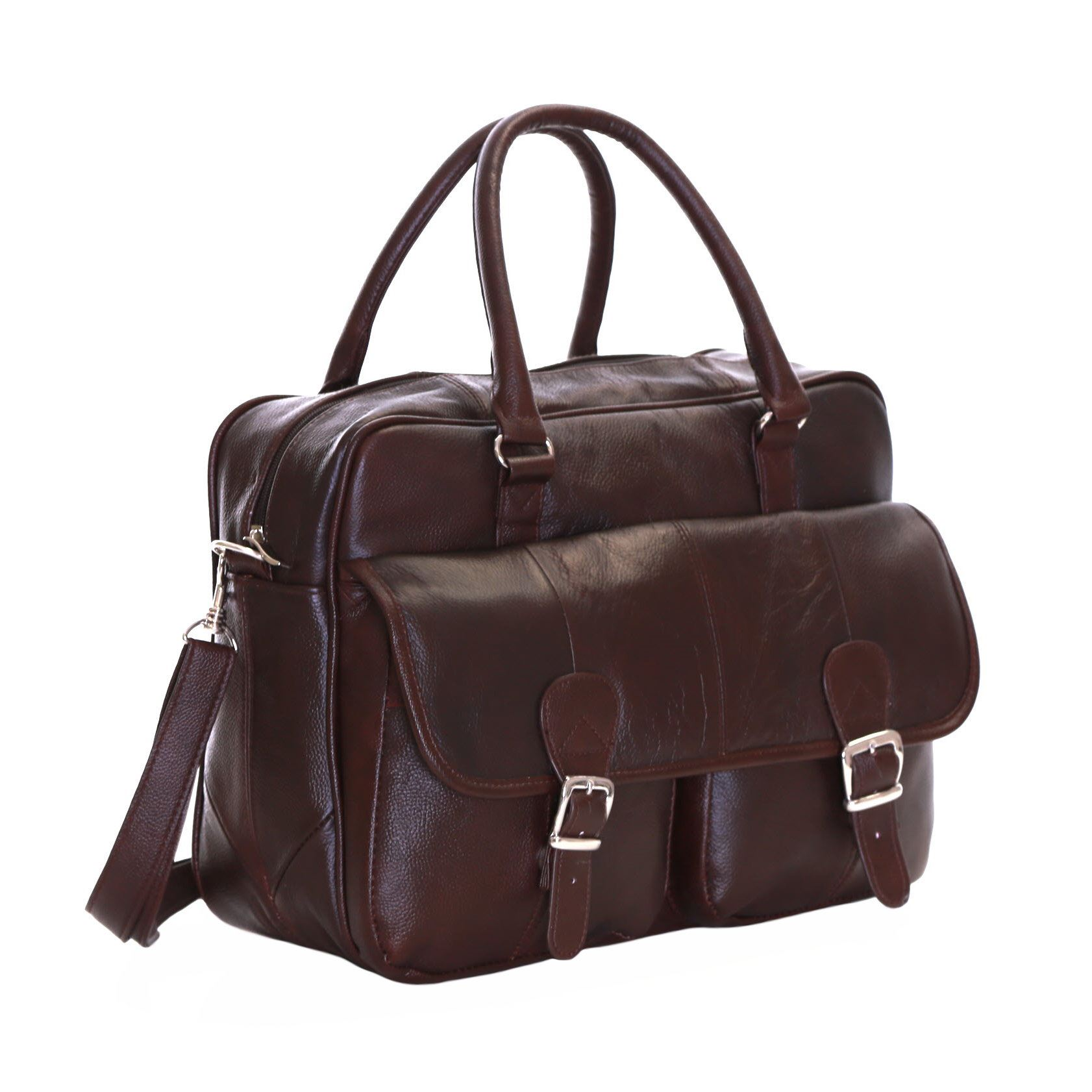 Ebay Essen Slimbridge Essen Leather Briefcase Brown