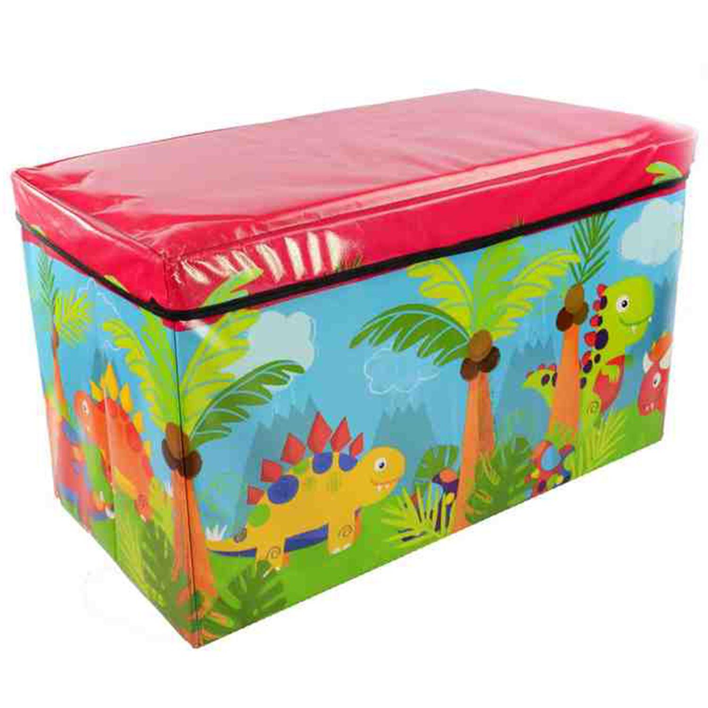 Kids Childrens Boys Girls Large Storage Toy Box Books
