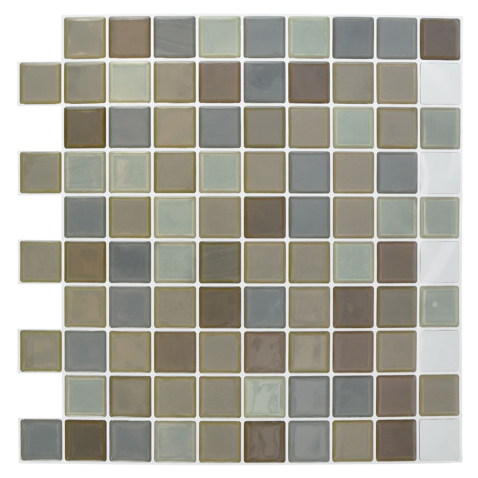 Ac Carrelage Self Adhesive Mosaic Tile Stickers Bathroom Kitchen