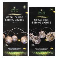 Owl Patio Lights - Original Mold Owl Patio String Lights ...