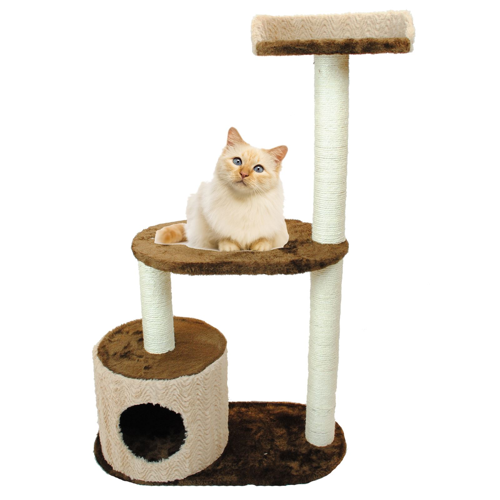 Cat Tower Furniture Pet Cat Kitten Play Furniture Climbing Tree Tower