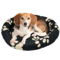 Soft Donut Pet Dog Bed Cushion New Soft Cosy Warm Fleece ...