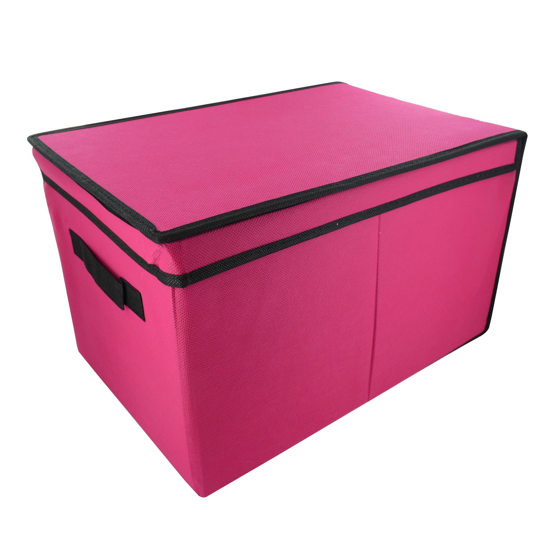 Bedroom Storage Boxes Home Bedroom Tote Canvas Storage Toy Box Foldable Lid